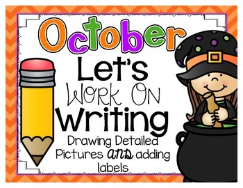 Let's Work On Writing October {Drawing Detailed Pictures A