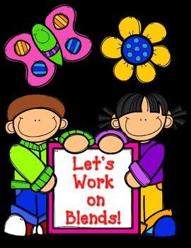 Let's Work on Blends:  Blends Worksheets
