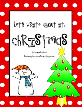 Let's Write About It: Christmas