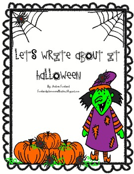 Let's Write About It: Halloween