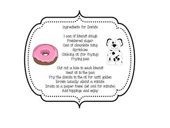 Let's Write About Laura Numeroff's If You Give A Dog A Donut