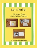 Let's Write! CD Jewel Case Photo Writing Prompt Set