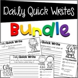 Daily Quick Writes BUNDLE