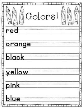 Let's Write  - Handwriting Practice Book