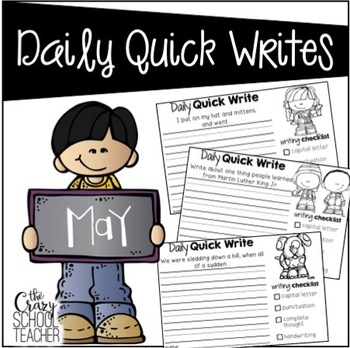 May Daily Quick Writes