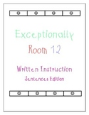 Let's Write Sentences!