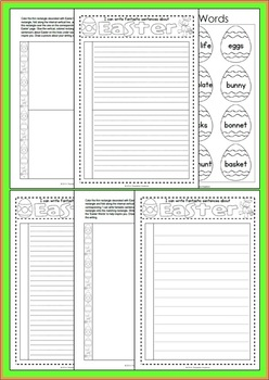 Interactive Writing Pack - Easter