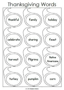 Let's Write Sentences - Fall - Halloween - Thanksgiving