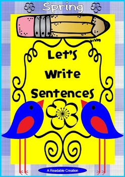 Interactive Writing Pack - Spring