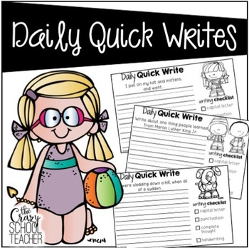 Summer Daily Quick Writes