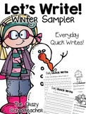 Daily Quick Writes {Winter Sampler}