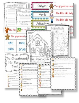 Let's Write a Gingerbread Man Story and Other Math & Literacy Activities