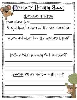 Let's Write a Story- Guiding Students Through the Writing Process