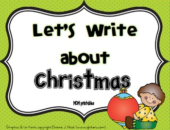 Let's Write about Christmas