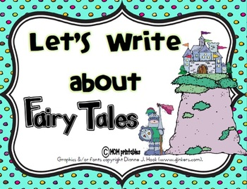 Let's Write about Fairy Tales (Common Core Aligned)