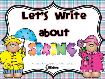 Let's Write about Spring (Common Core Aligned)