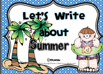 Let's Write about Summer (Common Core Aligned)