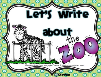 Let's Write about the Zoo (Common Core Aligned)