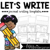 Journal Writing Monthly Templates