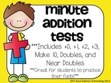 Minute Addition Tests!!!