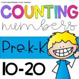 Let's count 11-20-Math Centers