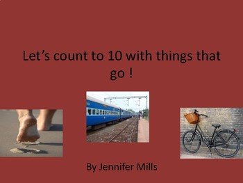 Let's count to 10 with things that go!