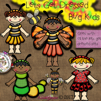 Lets get dressed - bug set