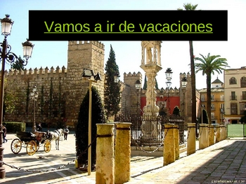 Let's go on vacation to Spain Power Point