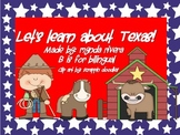 Let's learn about Texas English & Spanish Craftivity
