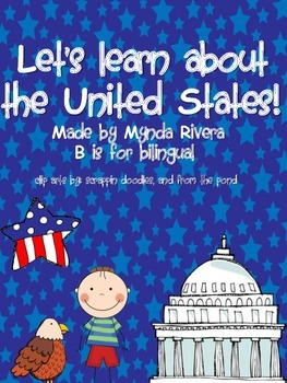 Let's learn about the United States (English & Spanish)