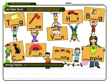 Let's make words with A,B,C & D!