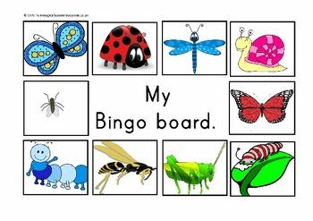 Lets play bingo. four different bingo boards.