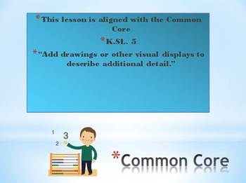 Lets read the captions! Common Core K-2  Kidspiration 3 file