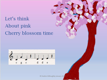 Lets think about pink  Song and percussion non specialist friendly Video mp3 etc