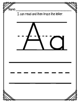 """Letter of the Week (Letter """"A"""")"""