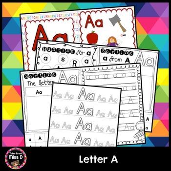 Alphabet Letter A