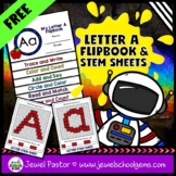 Letter A Alphabet Flip Book (Alphabet Interactive Notebook