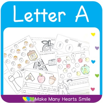 Easy 10: Letter A