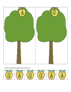 Alphabet Activities - Letter A - FREE
