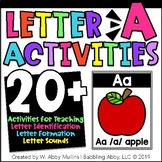 Letter A Activities | Alphabet | Letter Recognition, Sounds, and Formation