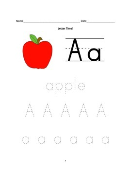 Letter A Activities {Common Core} FREE