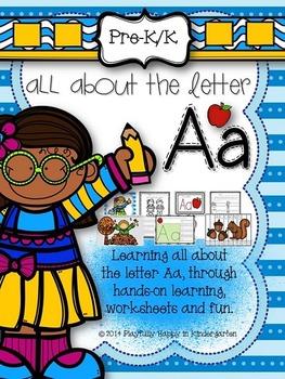 Letter A Activities for Pre-Kindergarten and Kindergarten