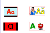 Letter A Activities for Promethean Interactive Whiteboard