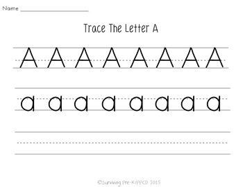 Letter A Activity Pack