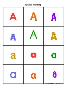Letter A Activity and Center Packet