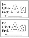 Letter A Alphabet Activity Book