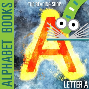 Letter A Alphabet Book - Helps Students Learn Letters and Sounds - ABC Book