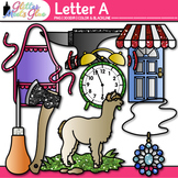 Letter A Alphabet Clip Art | Teach Phonics, Recognition, and Identification