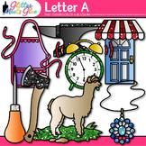 Letter A Alphabet Clip Art {Teach Phonics, Recognition, an