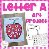 Letter A Art Project
